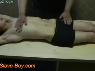 Clothed Sex Cute Asian Slave Boy Stripped Naked Surprise 4some.